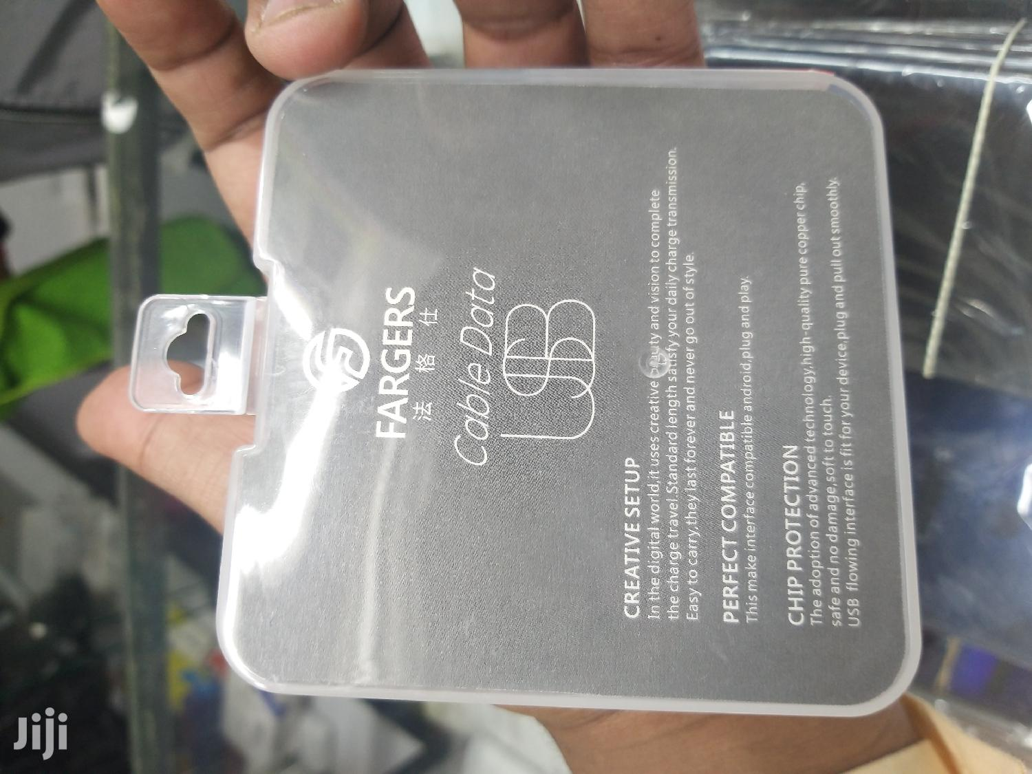 Usb Cable iPhone | Accessories for Mobile Phones & Tablets for sale in Nairobi Central, Nairobi, Kenya