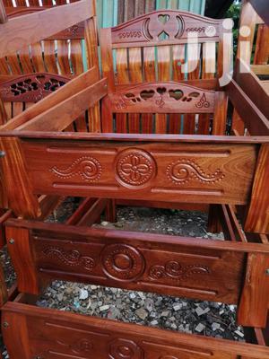 Mahogany Beds 5 *6 Feets. | Furniture for sale in Nairobi, Nairobi Central
