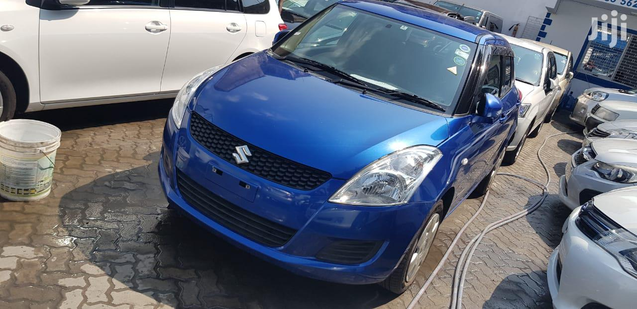 Suzuki Swift 2012 1.4 Blue | Cars for sale in Moi Avenue, Mombasa, Kenya