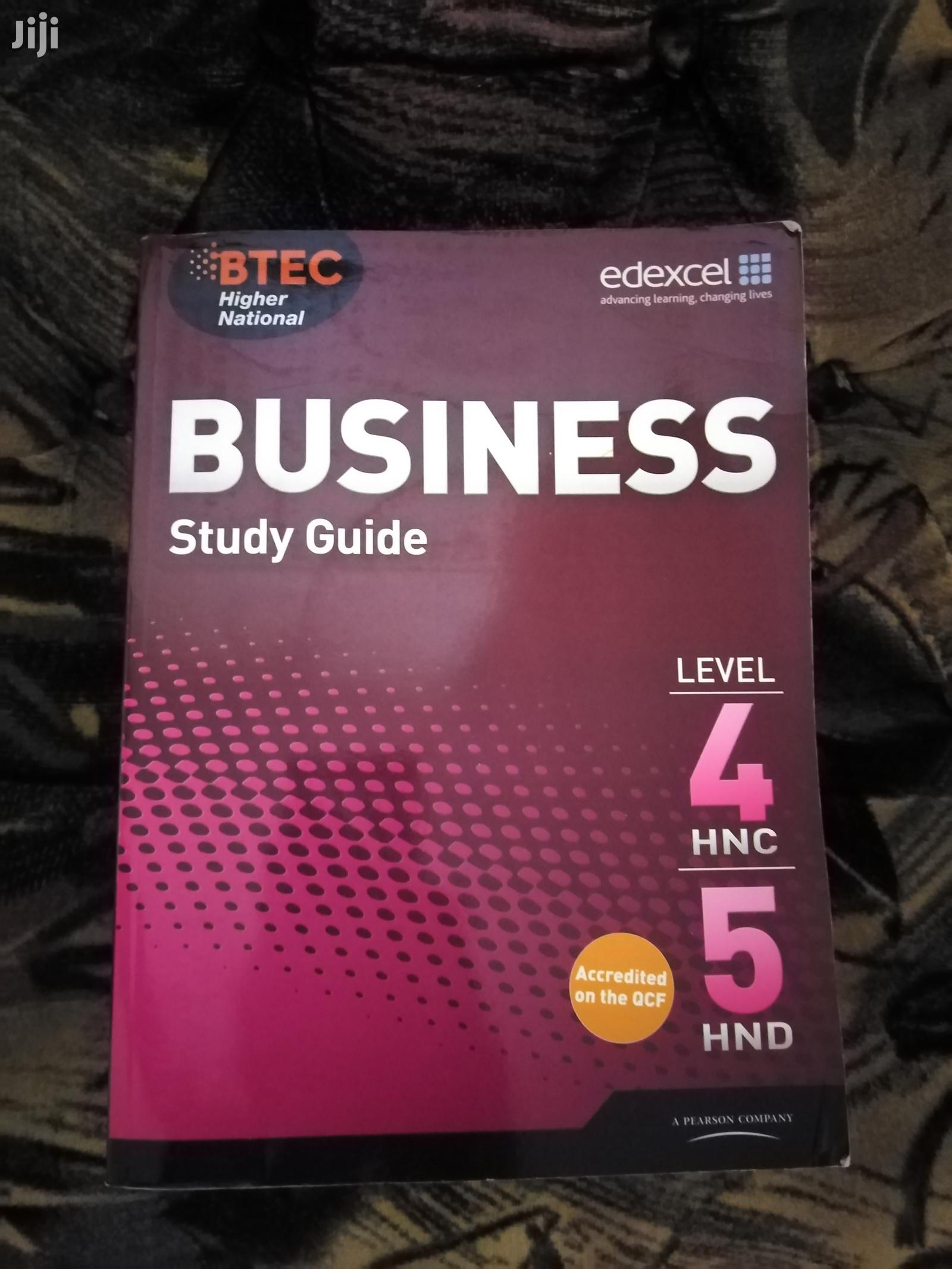 Edexcel Business BTEC Level 4 And Level 5 Book