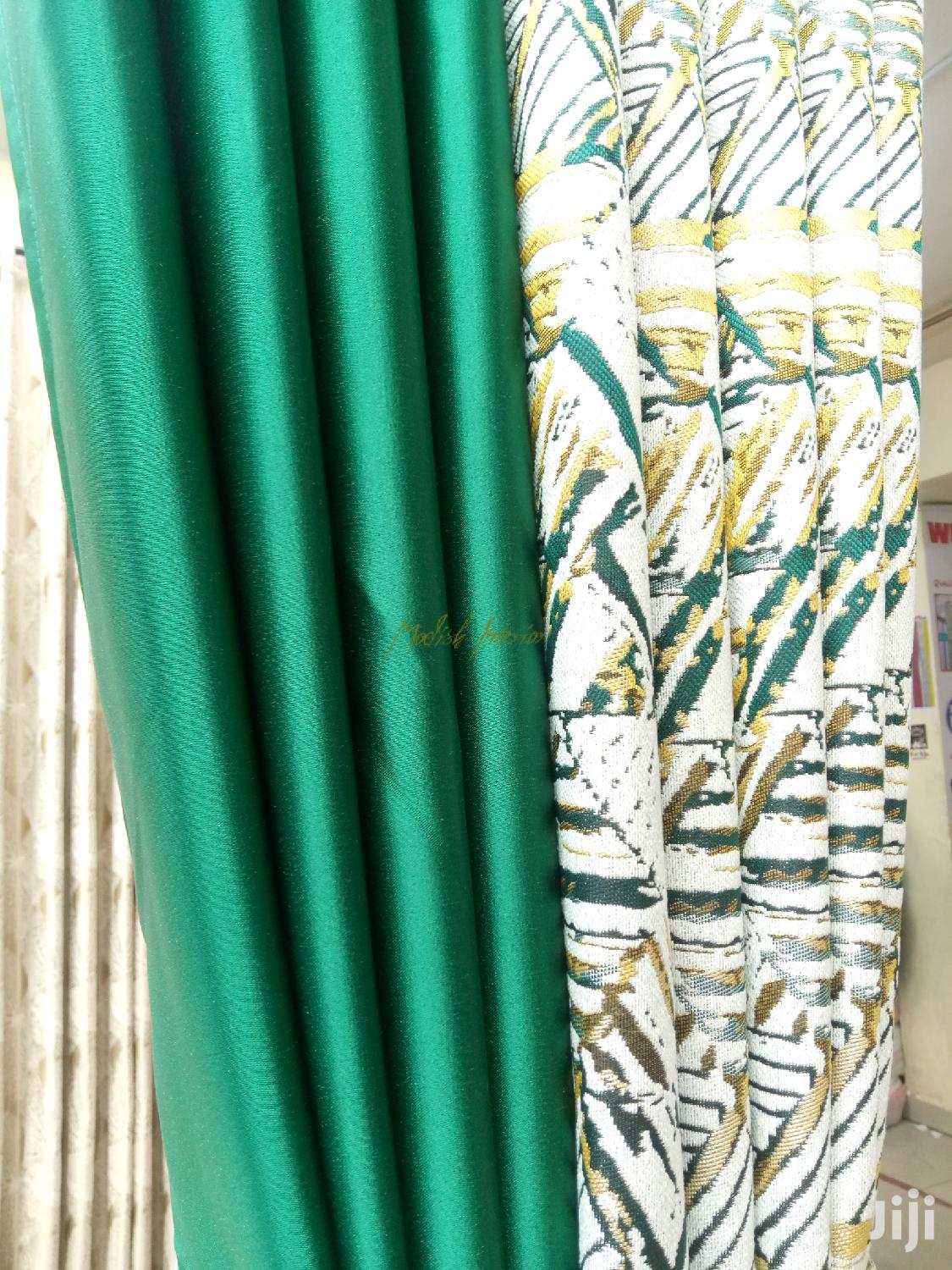 Emerald Green Curtains In Nairobi Central Home Accessories Modish Interior Jiji Co Ke