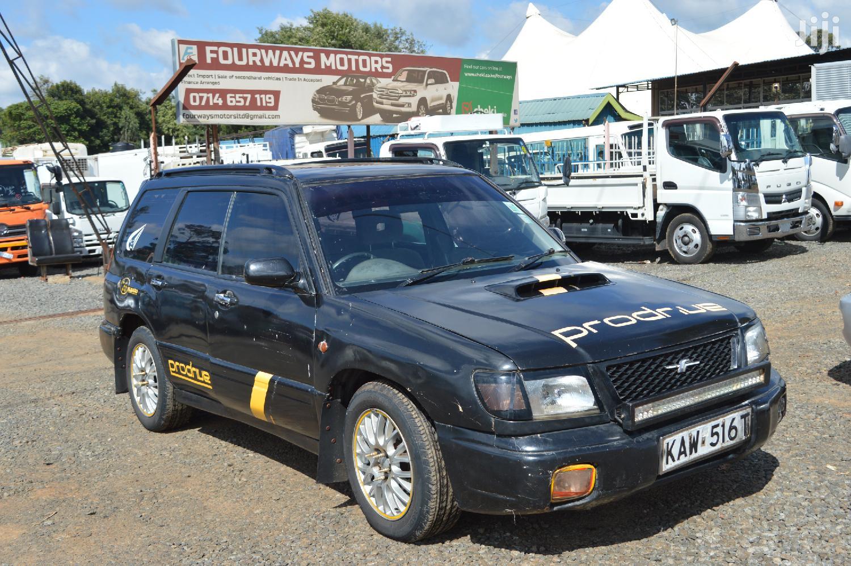 Subaru Forester 2001 Black