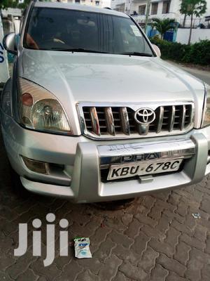 Toyota Land Cruiser Prado 2008 Silver | Cars for sale in Mombasa, Kisauni