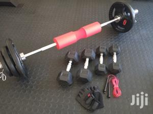 Olympic Weights Barbells Plus 5kg 7.5kg Dumbbells Offer | Sports Equipment for sale in Nairobi, Kilimani