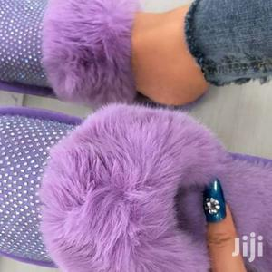 Fluffy Slip On Sandals | Shoes for sale in Nairobi, Nairobi Central