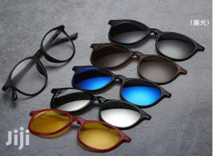 Polarized Clip-on Sunglasses- With 5 Clip-ons | Clothing Accessories for sale in Nairobi Central, Nairobi, Kenya