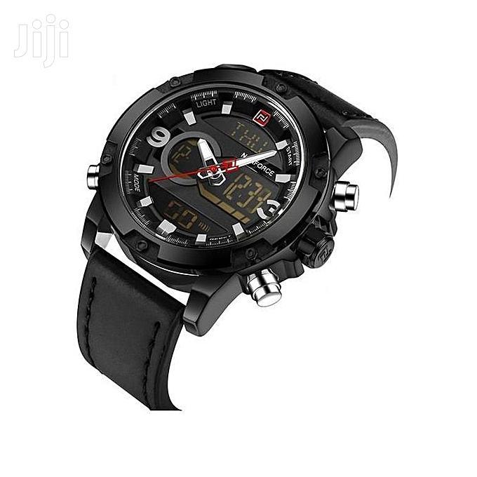 Men's Quartz Digital Man Casual Military Waterproof Watch