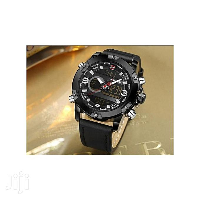 Men's Quartz Digital Man Casual Military Waterproof Watch | Watches for sale in Nairobi Central, Nairobi, Kenya