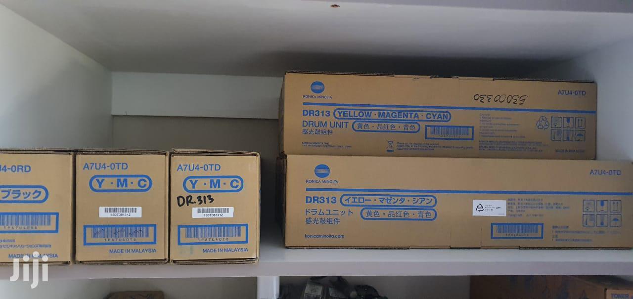 Genuine Konica Minolta DR313 (A7U40TD) Color Drum Unit