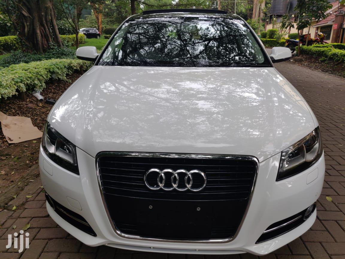 Audi A3 2013 White | Cars for sale in Lavington, Nairobi, Kenya