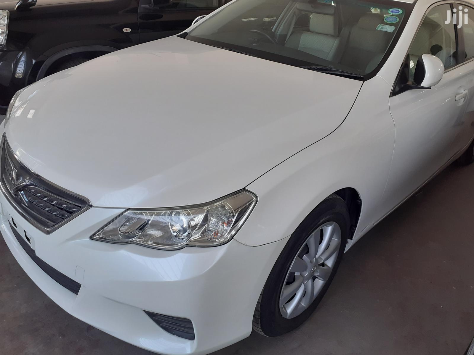 Toyota Mark X 2011 White   Cars for sale in Mvita, Mombasa, Kenya