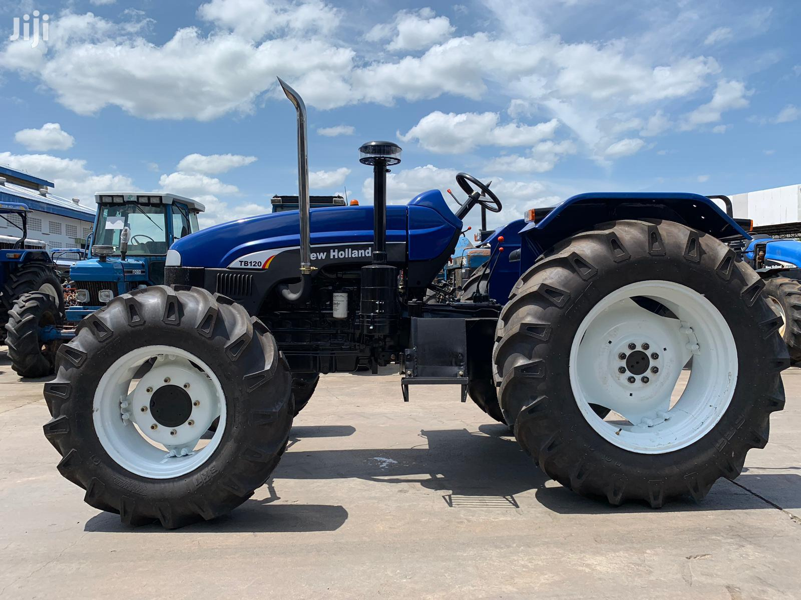 New Holland Tractors TB110 And TB 120 2WD And 4WD