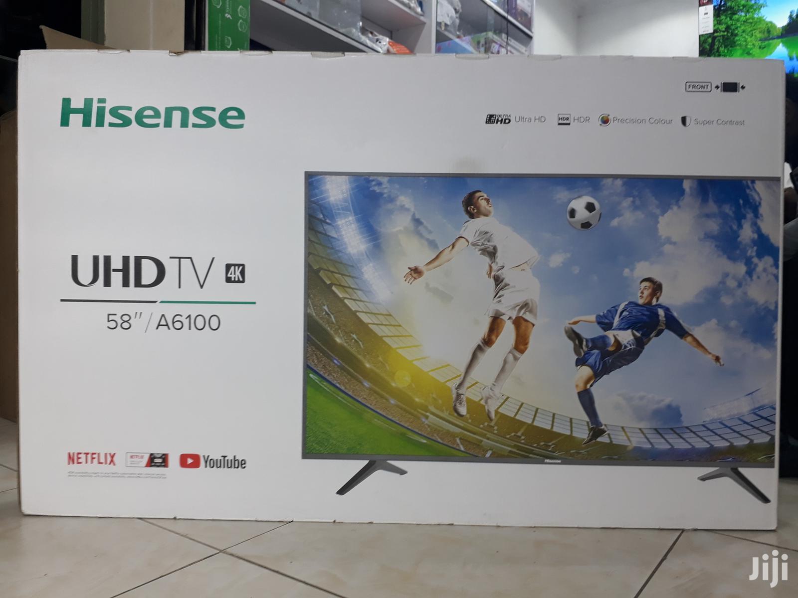 Hisense Smart 4K Uhd Tv 58 Inch