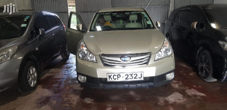 Subaru Outback 2011 Gold