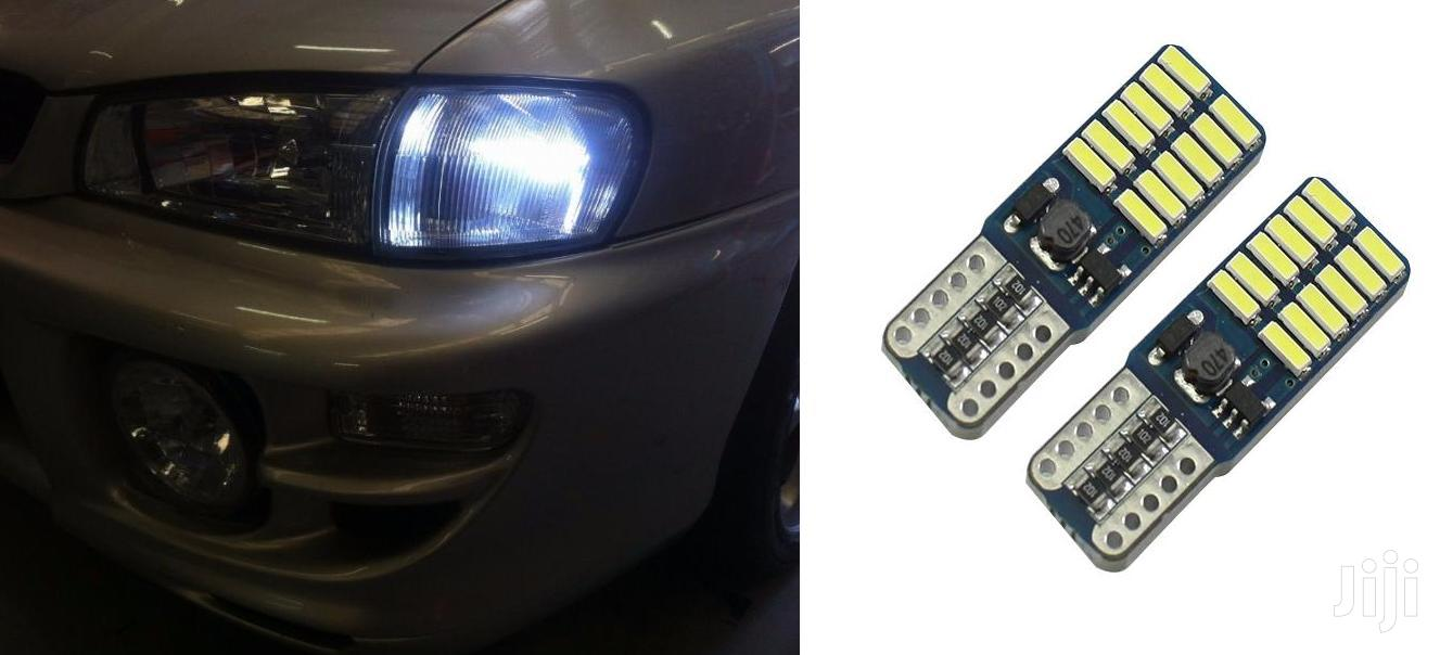 Crystal White Parking LED Bulbs