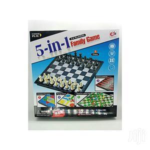 5 In 1 Family Game-chess, Snake& Ladder,   Books & Games for sale in Nairobi, Nairobi Central