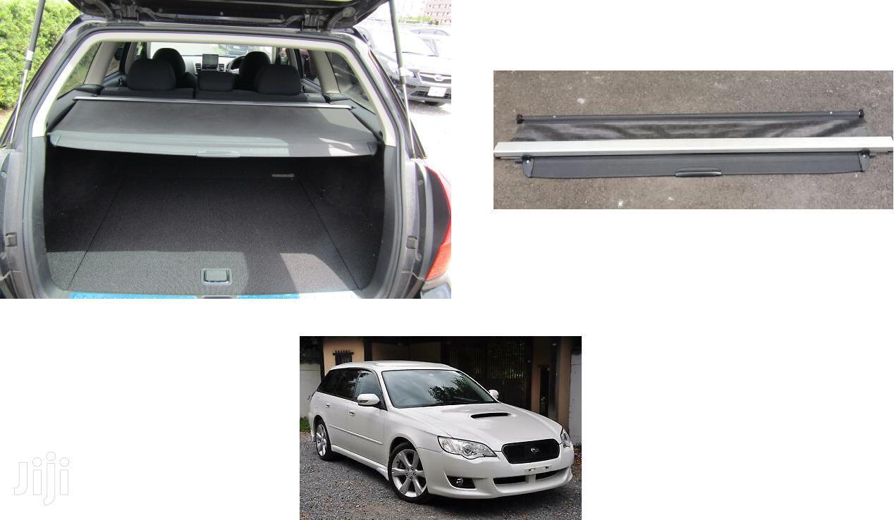 Subaru Legacy Wagon: BP5: Foldable Ex-japan Cargo Cover