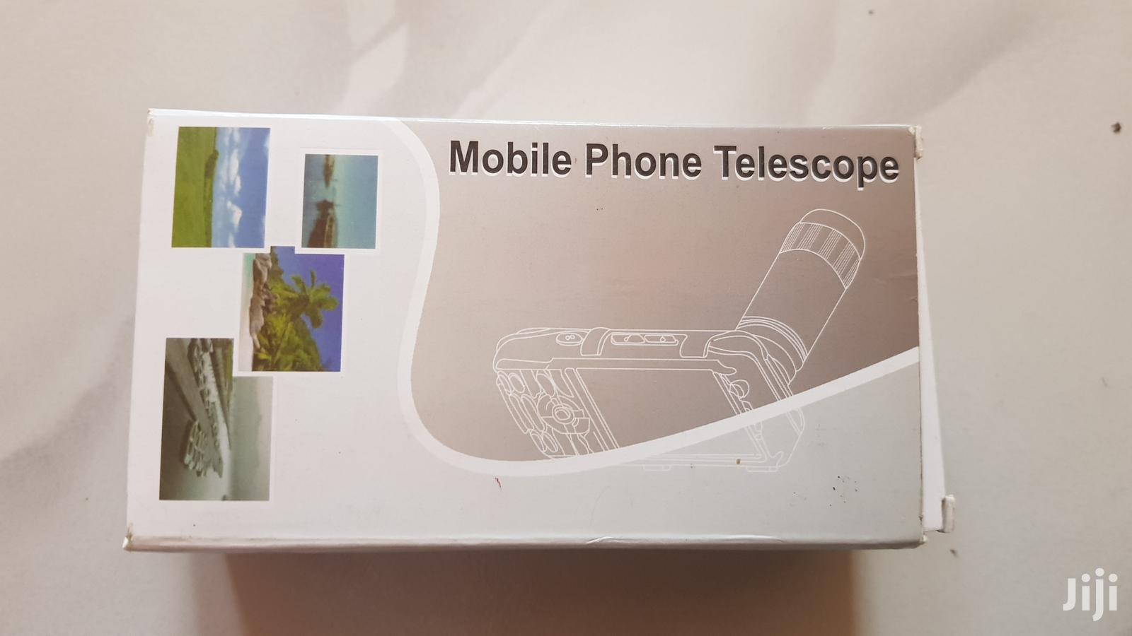 Mobile Telescope Lenses