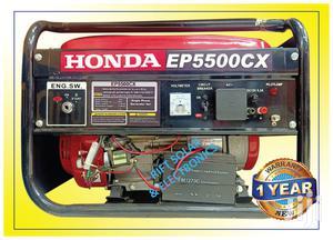 Honda Air Cooled Gasoline Generator 6.5kva | EP5500CX | Electrical Equipment for sale in Nairobi, Nairobi Central