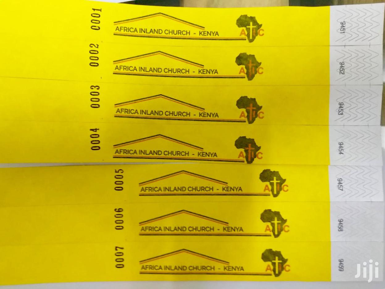 Archive: Wristbands For Events-tyvek-water And Tear-proof