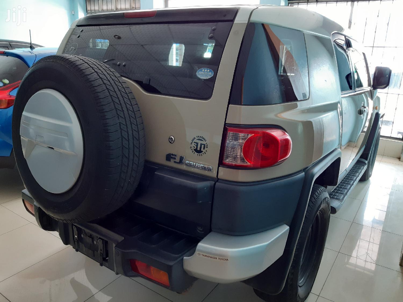 Archive: Toyota FJ Cruiser 2012 4x4 Automatic Beige