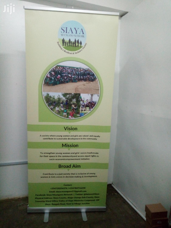 Roll Up Banner   Printing Services for sale in Kisumu Central, Kisumu, Kenya