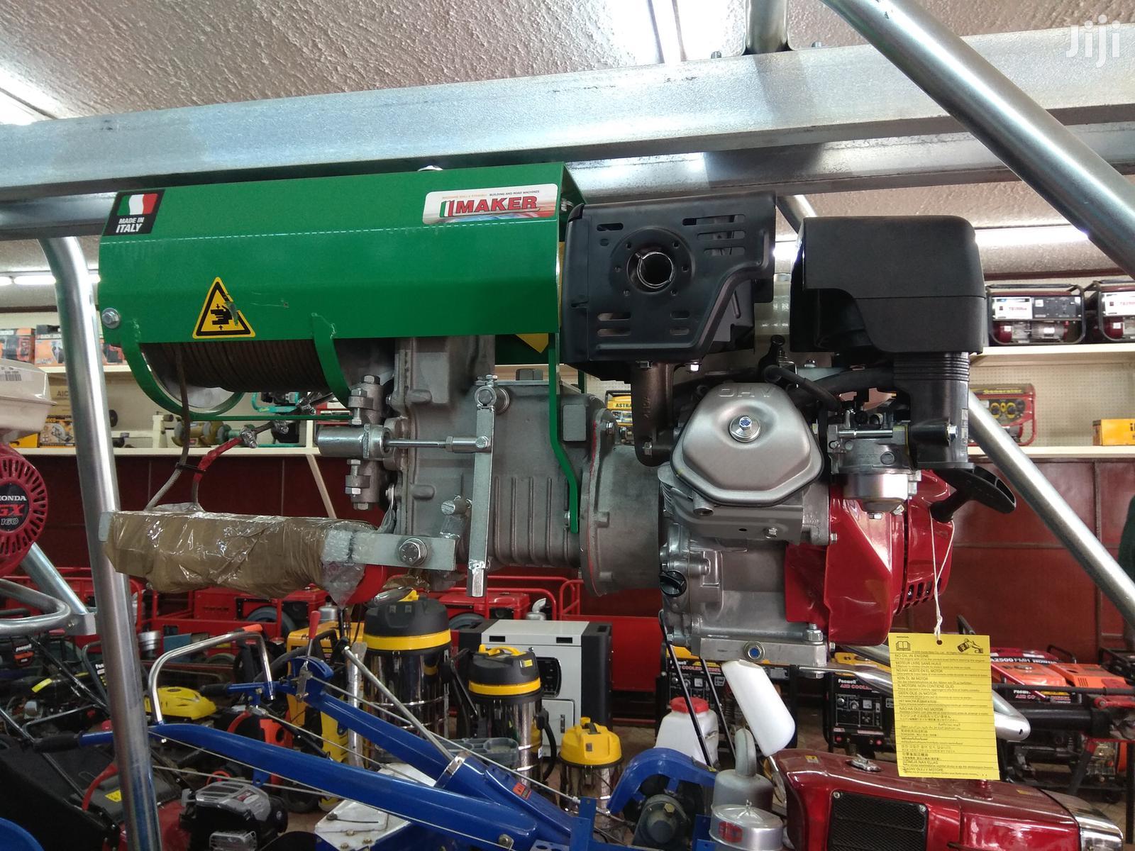 2020 Maker Italy Concrete Hoist Crane 0.5 Ton And 1 Ton   Manufacturing Equipment for sale in Ngara, Nairobi, Kenya