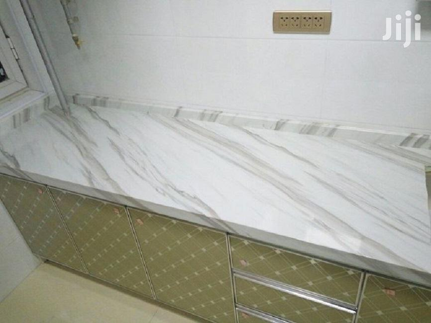White With Grey Marble Contact Papers