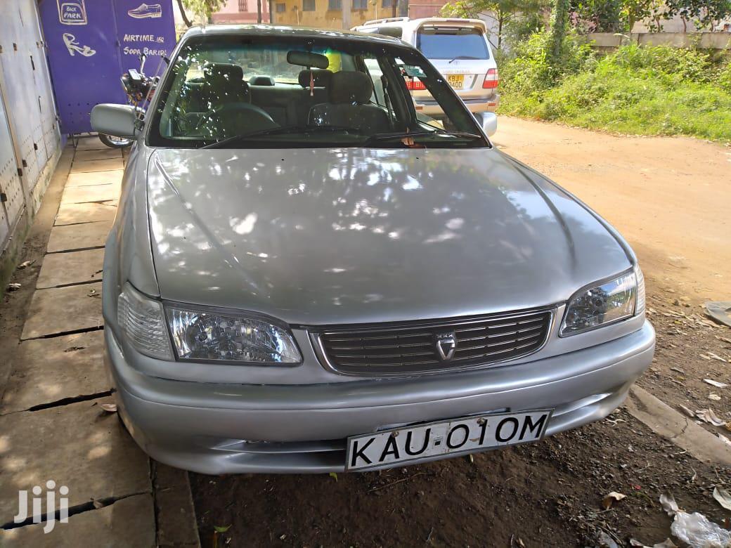 Toyota Corolla 1998 Sedan Gray
