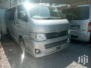 Toyota Hiace 7l Auto Petrol 2013 Silver For Sale   Buses & Microbuses for sale in Mombasa, Mvita