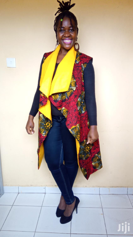 Sleeveless Kimono/Waterfall
