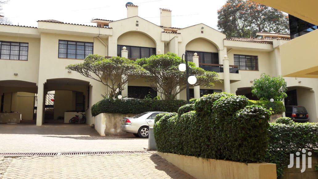 To Let 4bdrm With Dsq Townhouse at Kyuna Loresho Nairobi Kenya