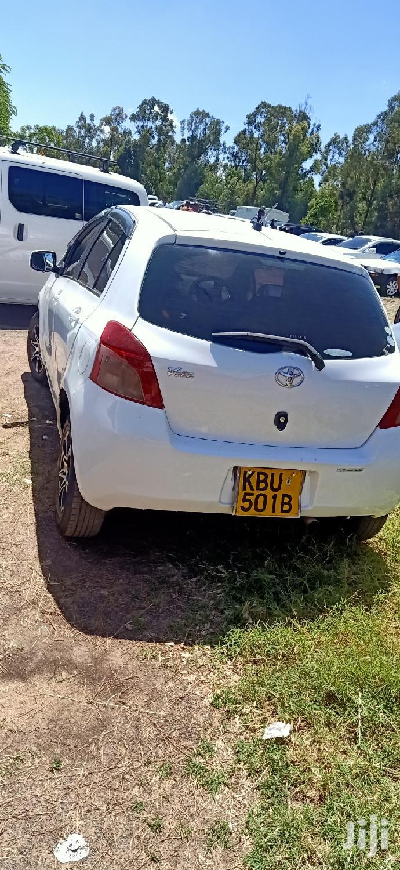 Toyota Vitz 2006 White   Cars for sale in Makadara, Nairobi, Kenya