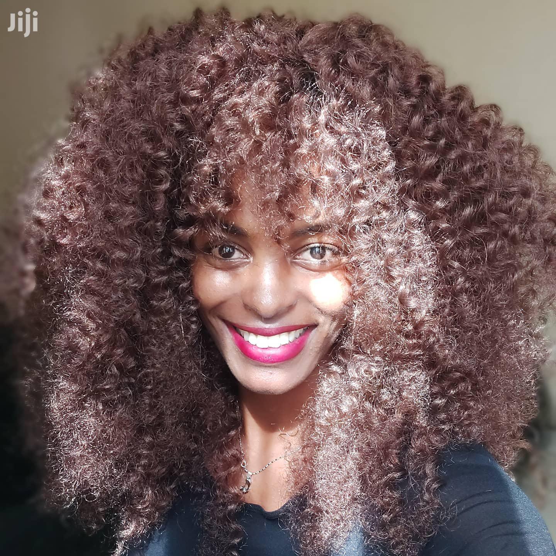 "12"" Curly Wig | Hair Beauty for sale in Nairobi Central, Nairobi, Kenya"
