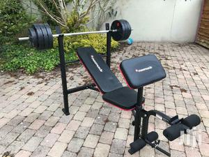 Gym Weight Benches With 50 Kgs Weights | Sports Equipment for sale in Nairobi, Karen