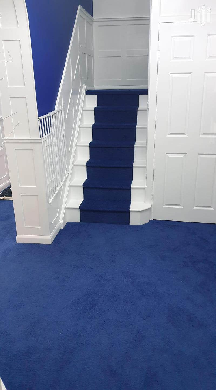 Loyalty Blue Wall to Wall Carpets