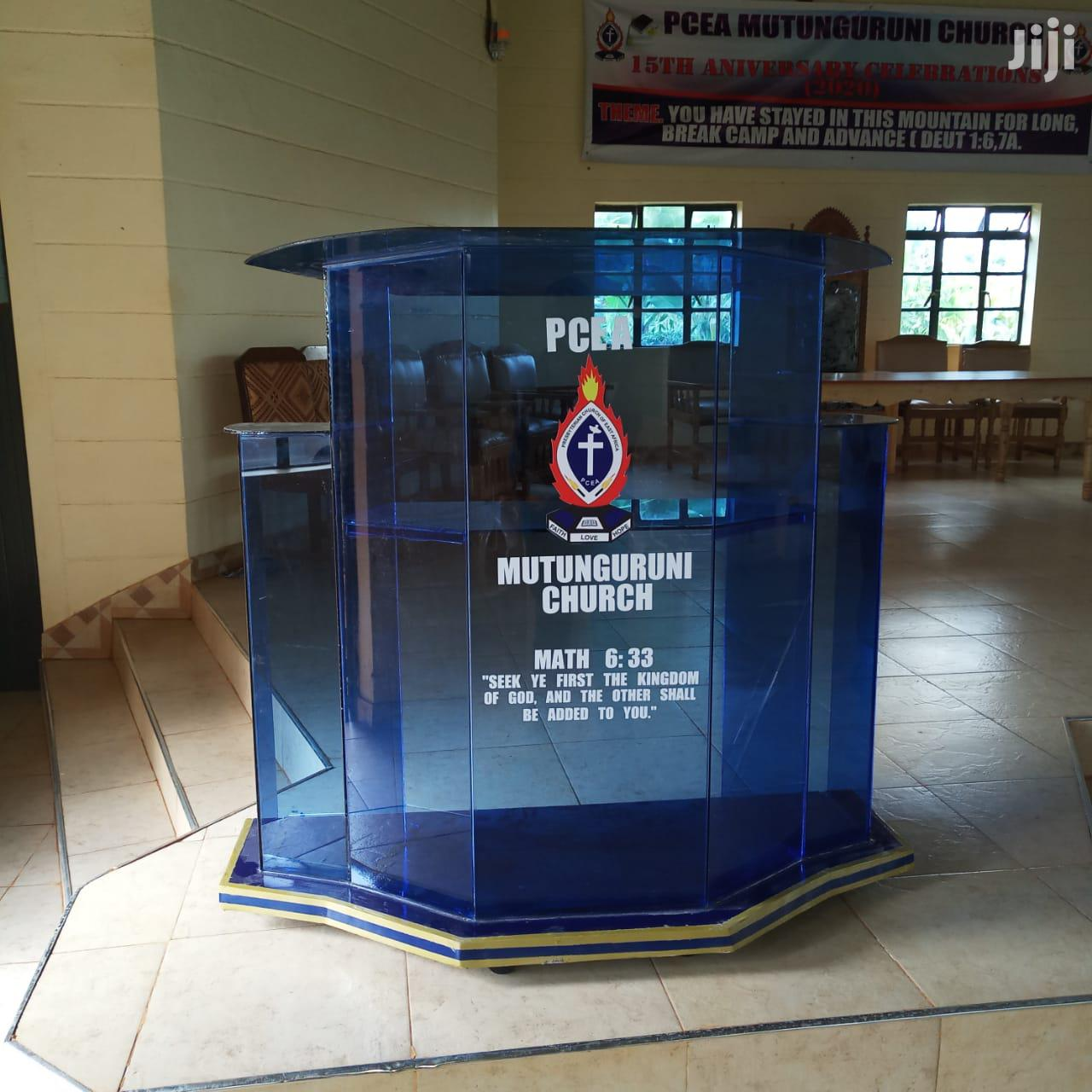 Pulpit/Podiums | Furniture for sale in Nairobi Central, Nairobi, Kenya