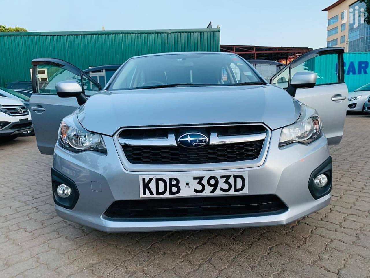 Subaru Impreza 2013 Silver