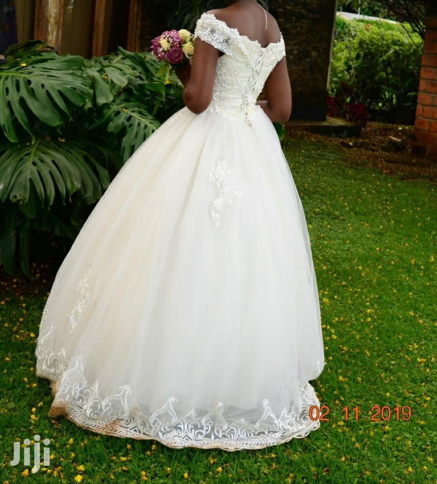 Our Cinderella Wedding Gown