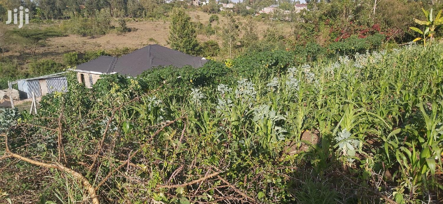 A Very Prime Pocket Friendly 1/4 Acre in Ongata Rongai. in