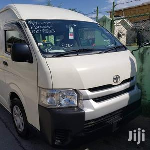 Toyota Hiace 2015 White   Buses & Microbuses for sale in Nyali, Ziwa la Ngombe
