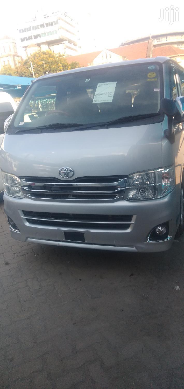 Toyota Hiace 2014 Silver