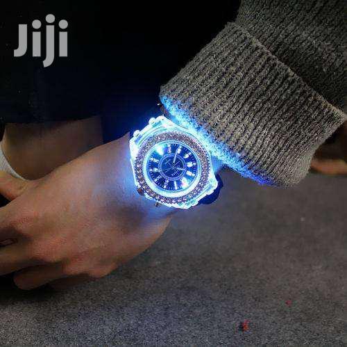 Geneva LED Backlight Crystal Wrist Watch | Watches for sale in Komarock, Nairobi, Kenya