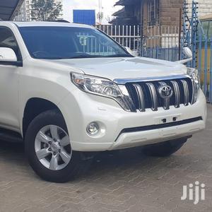 Toyota Land Cruiser Prado 2014 White   Cars for sale in Nairobi, Karen