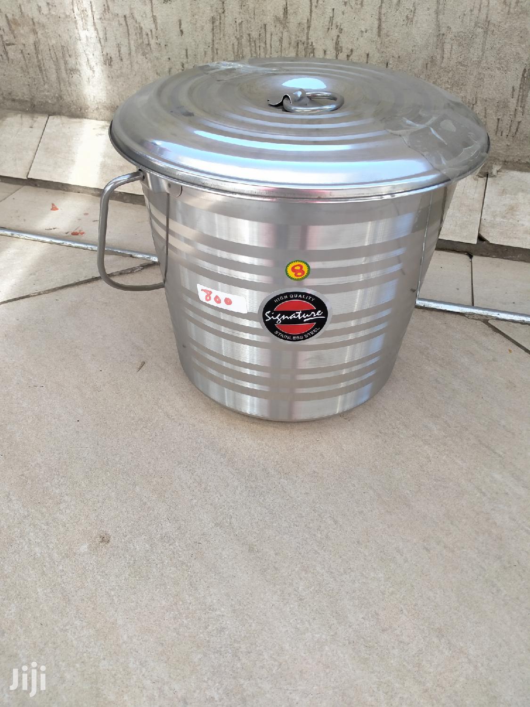 Stainless Steel Signature Bucket