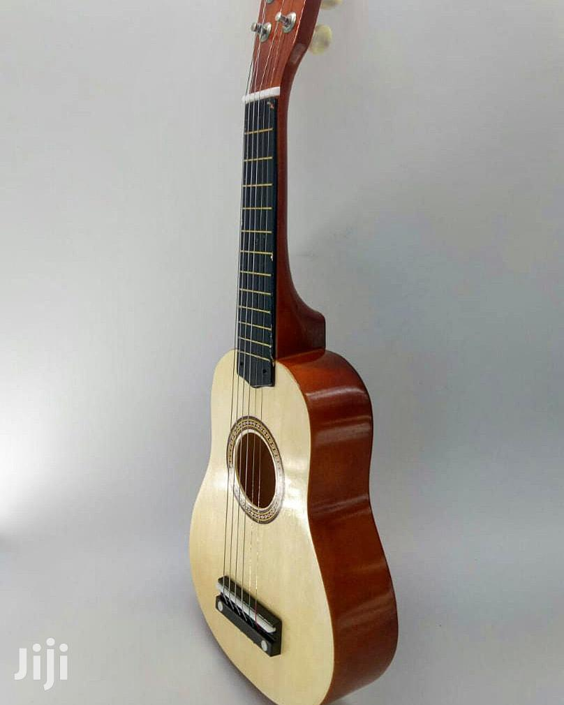 6 String Beginners Practice Acoustic Guitar With Pick