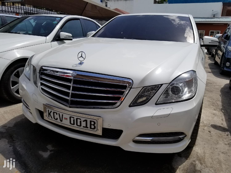 Mercedes-Benz E250 2013 White