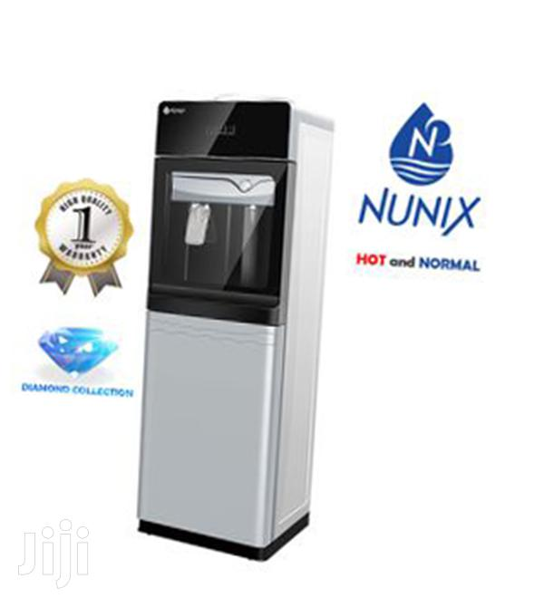 Nunix Hot and Normal Free Standing Water Dispenser R5N White
