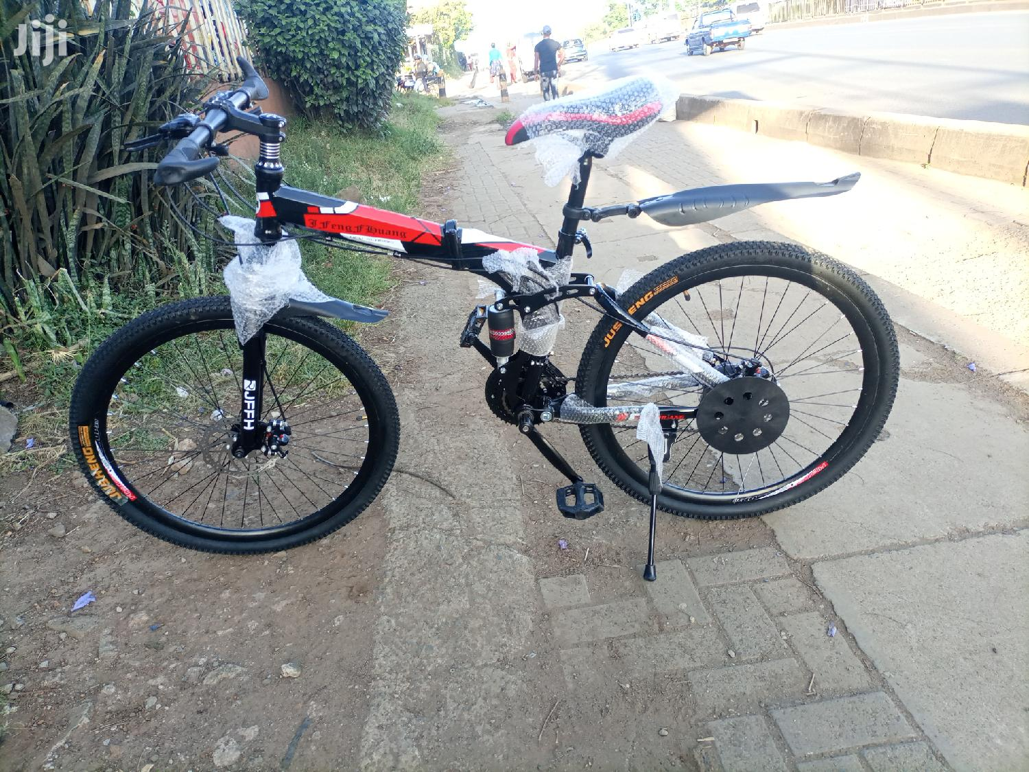 Foldable Mountain Bike With Gears Size 26