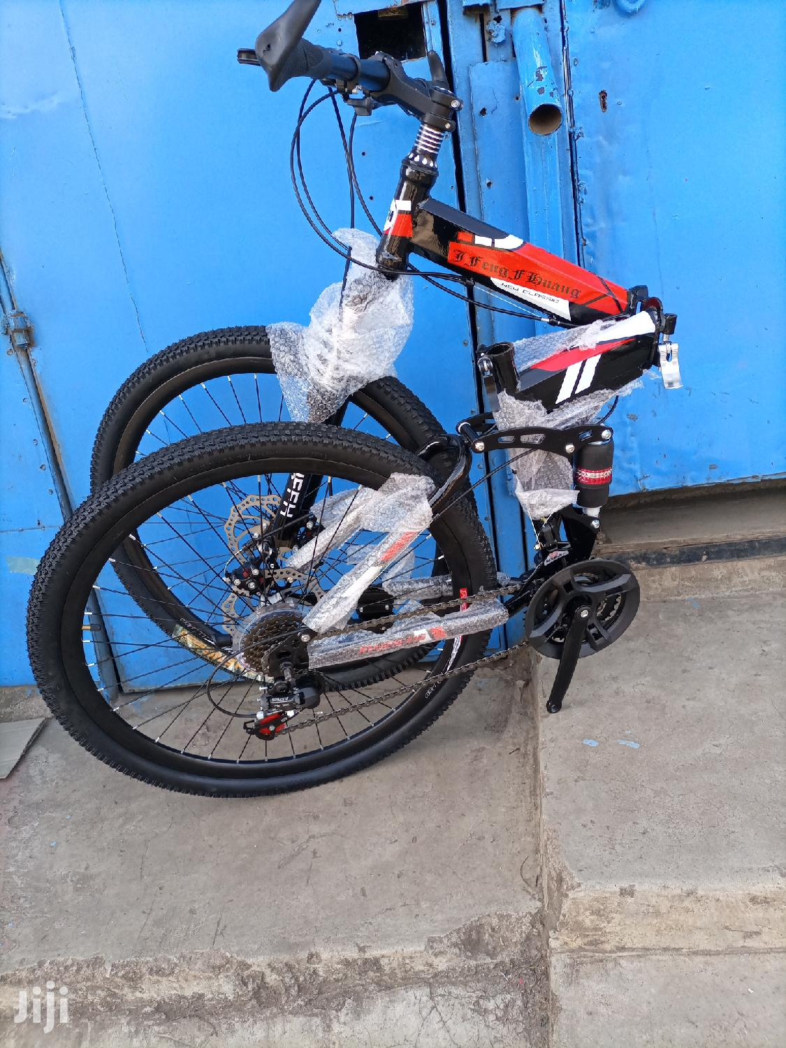 Foldable Mountain Bike With Gears Size 26   Sports Equipment for sale in Nairobi Central, Nairobi, Kenya